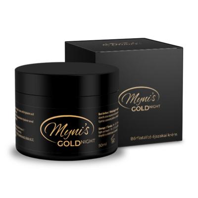 Myni's GOLD Bőrfiatalító Éjszakai krém 50ml