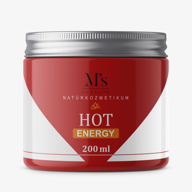 Myni's HOT Energy Lóbalzsam 200ml