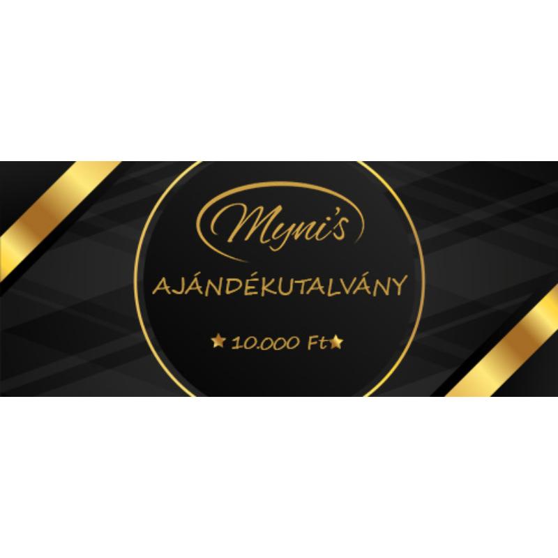 Myni's Ajándékutalvány 10.000 Ft értékben